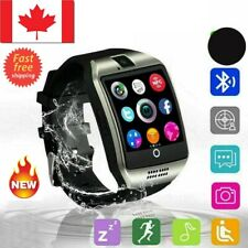 NEW Q18 Touch Screen Smart Watch Bluetooth For Android SIM Card Wristwatch Gift