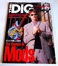 MODS THE DIG Japan Magazine 1996 No.7 Jam Who Small Faces Taj Mahal Peter Hammil