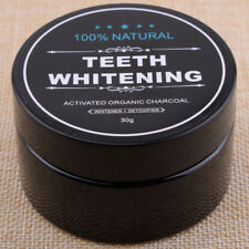 30g Natural Teeth Toothpaste Whitening Powder Organic Activated Bamboo Charcoal