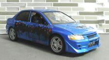 Joyride/ERTL/RC Fast Furious 1/18 blue 2002 Mitsubishi Lancer Evo VII