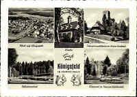 Königsfeld Schwarzwald Ansichtskarte ~1950/60 ungelaufen ua. Luftaufnahme uvm.