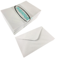 INERRA Small White Craft Envelopes - 11 x 7cm for Florist, Flowers & Bouquets
