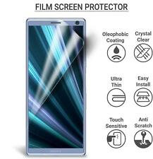 """For Sony Xperia L4, (6.2""""), HD Clear LCD Film Screen Guard Protector (Pack Of 5)"""