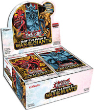 Yu-Gi-Oh TCG War of the Giants Battle Pack 2 English Booster Box Factory Sealed