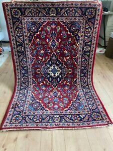 Echter Feiner Handgkenüpfter Kaschan Kashan Keschan Perser Orientteppich