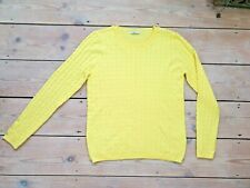 TU Woman Yellow Jumper Pullover size 12