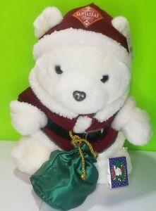 Vintage Dayton Hudson Santa Bear Plush Toy Collectible Christmas Santabear 1998