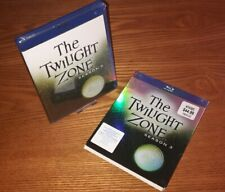 THE TWILIGHT ZONE Season 3 5disc Blu-ray US import region a (rare OOP slipcover)