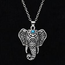 Nice Fashion Vintage Elephant Pendant Chain Choker Charm Necklace Boho Jewelry