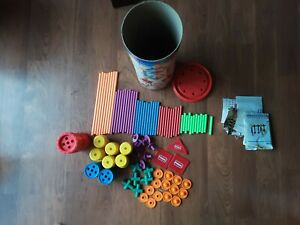 Playskool Tinkertoy Construction System802 Dynamic Designs Building Toys 1991
