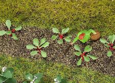 FALLER Rhubarb Plants 10mm (28) HO Gauge Scenics 181273