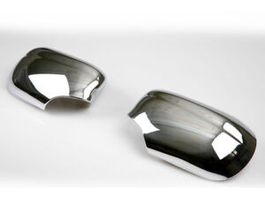 For Jaguar S-type 98-02 Chrome Mirror Cover Door Door Mirrors