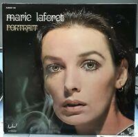 DOUBLE ALBUM 33 TOURS MARIE LAFORET PORTRAIT 1978