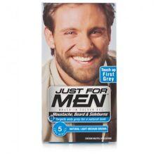 Just For Men Moustache & Beard Brush-In Colour - Light-Medium Brown