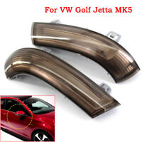 2X Links+Recht Blinker Blinkleuchte Aussenspiegel Lampe für GOLF GTI JETTA MK5