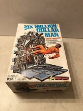 Six Million Dollar Man Bionic Bust Out 1974 Plastic Model Kit Unused 1-0601