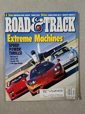 Road & Track Magazine December 2002 Mercedes-Benz CLK500 - 2003 Bentley Arnage R