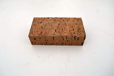 Rare Leather Craft Workers Real Natural Cork Anvil Rubbing Block Cobblers tools