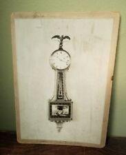 Antique Durfee Clock Co. Banjo Clock Catalog Photograph