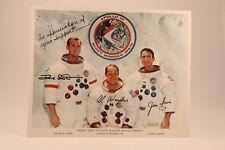 Apollo 15 Astronauts Auto Pen + Official Letter + Sticker + NASA Certificate