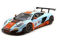 TSM 141822R McLaren 12C GT3 model race car 24hr Spa Gulf Racing 2013 1:18 scale