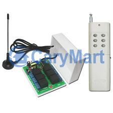 6 Kanal 220V Hochleistungsschalter mit Schließer Kontakt Funk Fernsteuerung