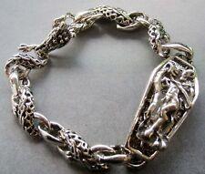 Dragon Beads Bracelet Wrist Jewe 00004000 lry Alloy Metal Happy Lucky Chinese Zodiac