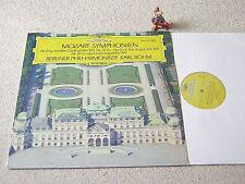 MOZART Symphonien 25/26/27 BÖHM BPO 1973 GER LP DGG 2530 120