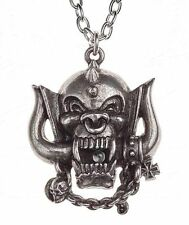 Motorhead: War-Pig Pewter Chain Jewelry Band Pendant Gothic Necklace Alchemy