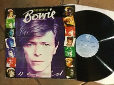 DAVID BOWIE THE BEST OF BOWIE RCA K-TEL 1st UK LP 1981 Free UK Post Exc+