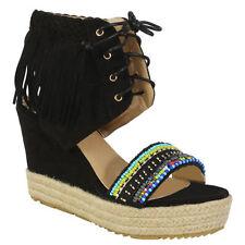Wedge Standard Width (B) Multi-Coloured Heels for Women