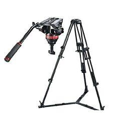 Manfrotto Tripod w/ Fluid Head