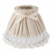Clayre & eef Lampshade Beige Cottage Vintage Shabby Chic 7 7/8x5 1/2in