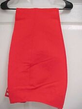 BOGNER Women Candy Apple Red SHELL Pant Ski  Uninsulated Snowboarding Winter