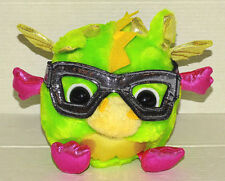"Aurora Gumdrops Dragon Green Glasses metallic 5""  Plush"