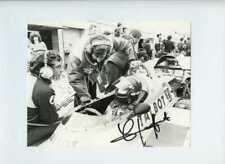 Jacques Laffite Ligier JS17 British Grand Prix 1981 signé Press Photo 3