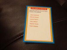 Tour de France cycling A Question of Sport Premier game card 1996/1997