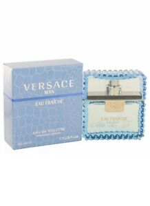 Versace Versace Man By Versace Eau Fraiche Eau De Toilette Spray (blue) 1.7 oz