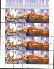 Stamps USPS Scott 3238-3242 Sheet MNH 1998 Space Discovery 20x32