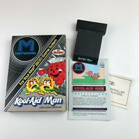 KOOL-AID MAN - M NETWORK Atari 2600 CIB In Box - WITH MANUAL - Free Ship - Rare