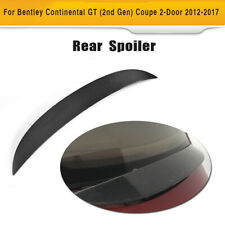 Rear Trunk Spoiler Wing Lip Carbon Fiber For Bentley Continental GT Coupe 12-17