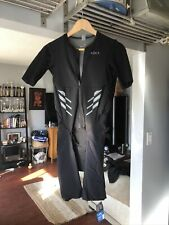 Roka Men's Elite Aero Ii Ss Triathlon Suit-New -Lg