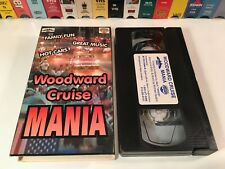 * Woodward Cruise Mania Classic Car Documentary VHS 1996 Detroit Auto Festival