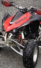 SHOCK COVER,PROTECTEUR D'AMORTISSEUR,VTT, ATV,SET DE 3,KFX,KAWASAKI ,MONSTER RED