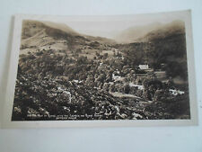 Vintage RP Postcard The Vale of Rydal With Church+Rydal Mount ABRAHAMS SERIES