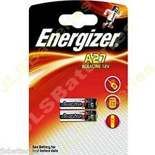 2 x Energizer 27A A27 MN27 12v Batteries E27A EL812 L828