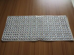 310pcs 6mm All Silver 3D Holographic Fishing Lure Eyes. Fly Tying, Jigs, Crafts