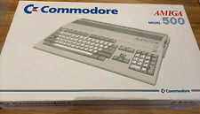 Amiga 500 With OLED Gotek.  Excellent Cond with power supply/mouse/box.  PAL
