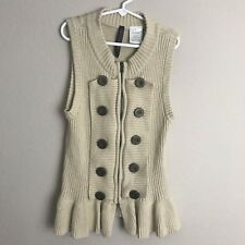 Absolutely Creative World Girls Sweater Vest Size Small E52