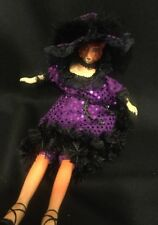 Katherine's Collection Wayne Kleski Retired Fox Showgirl Bean Doll NOS Purple